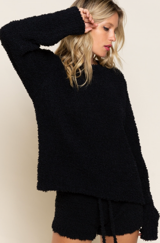Cloud Nine Sweater- Black