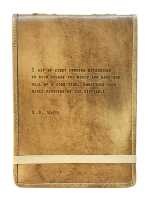 Leather Journal - E. B. White