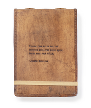 Load image into Gallery viewer, Leather Journal - Joseph Campbell