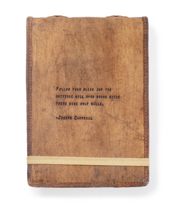 Leather Journal - Joseph Campbell