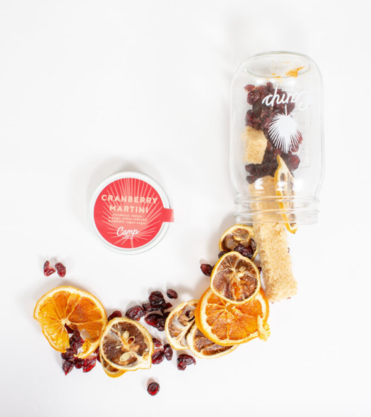 Cranberry Martini Craft Cocktail Jar