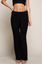 Load image into Gallery viewer, Cloud Nine Lounge Pants - Black