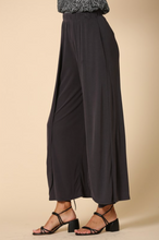 Load image into Gallery viewer, Modal Wide Leg Pants - Charcoal