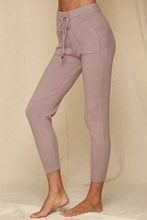 Load image into Gallery viewer, Dusty Mauve Knit Joggers