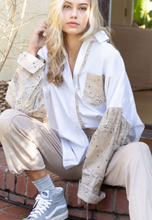 Load image into Gallery viewer, Ivory Beige Bandana Top