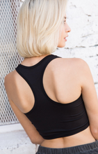 Load image into Gallery viewer, Racer Back Sports Bra Top