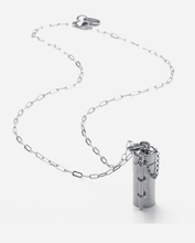 Load image into Gallery viewer, Capsule + Wand Necklace // Sterling