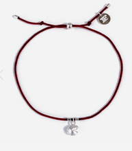 Load image into Gallery viewer, Fortune Cookie String Bracelet - Red