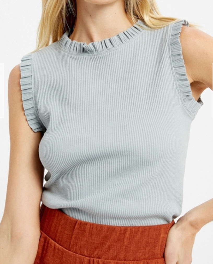 Mini Ruffled Tank