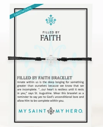 Filled by Faith Open Cross Bracelet