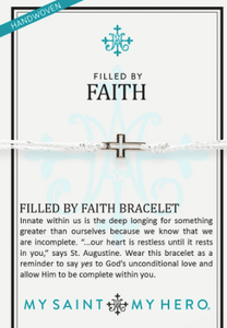 Filled by Faith - Metallic Silver