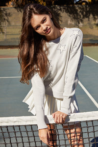 Tennis Skirt - White