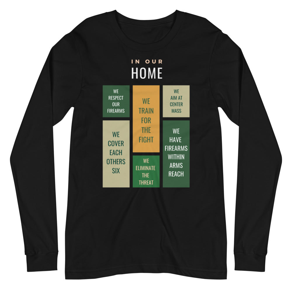 My Home Long Sleeve Tee