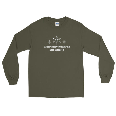 No Snowflakes Long Sleeve Shirt