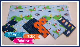 All Hands on Deck Fat Quarter Bundle