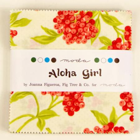 Aloha Girl by Fig Tree & Co - Charm Pack