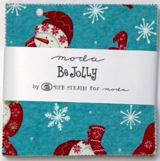 Be Jolly by Deb Strain - Charm Pack