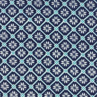 Be Jolly by Deb Strain - Snowflake Lattice Navy