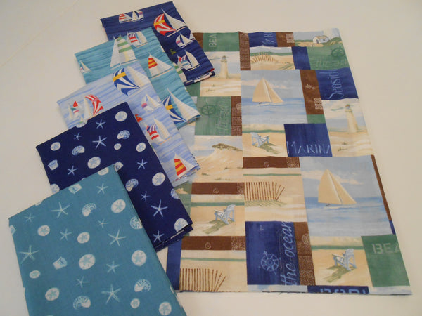 Coastal Breeze 1/2 Yard Bundle