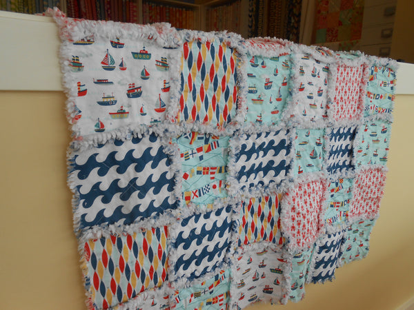 Fly Aweigh Rag Quilt Kit