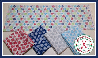 Folks Life Snowflakes Fat Quarter Bundle