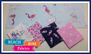 Mermaid Adventures Fat Quarter Bundle