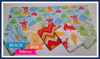 My Caribbean Beach Fat Quarter Bundle