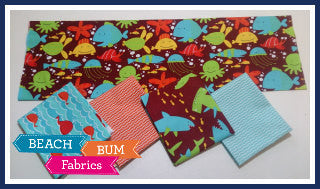My Hawaiin Beach Fat Quarter Bundle