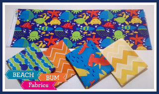 My Tropical Beach Fat Quarter Bundle