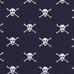 Seaworthy by Jack and Lulu - Jolly Rogers (Navy)