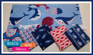 True Blue Part 2 Fat Quarter Bundle