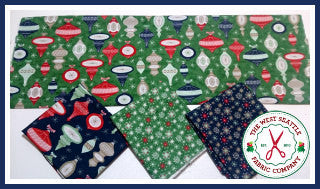 Vintage Ornaments Fat Quarter Bundle