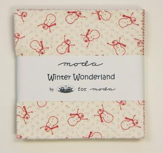 Winter Wonderland by Bunny Hill Designs - Charm Pack