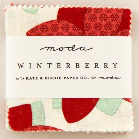 Winterberry by Kate and Birdie Paper Company - Charm Pack