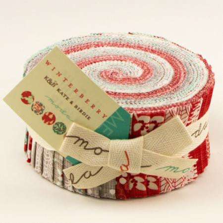 Winterberry by Kate and Birdie Paper Company - Jelly Roll