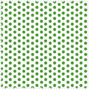 All Wrapped Up by Maywood Studio - Dots (green on white)
