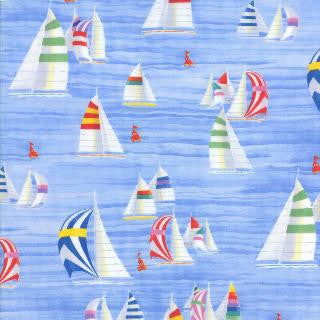 Coastal Breeze by Paul Brent - Sailboats (Sky)