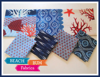 Indo Ikat Fat Quarter & Panel Bundle