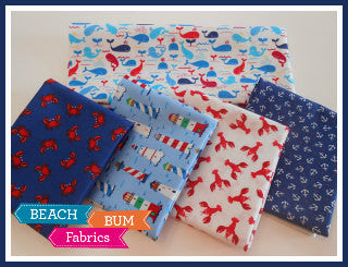 Mini Coastals by Timeless Treasures - Fat Quarter Bundle
