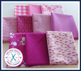 Pink Prosperity Fat Quarter Bundle