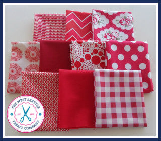 Rosey Red Riches Fat Quarter Bundle