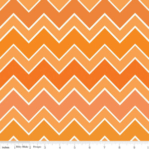 Shaded Chevron by Riley Blake- Blaze