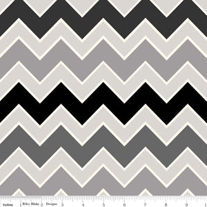 Shaded Chevron by Riley Blake - Ninja