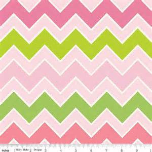 Shaded Chevron by Riley Blake - Summer