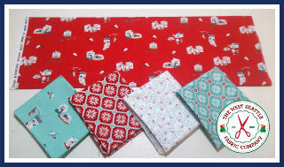 Snowglobes & Joy Fat Quarter Bundle