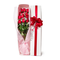 Roses gift boxed