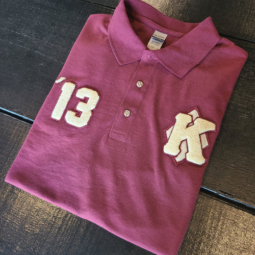Custom Polo (Crimson)