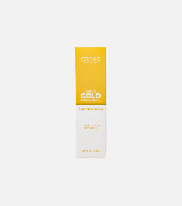 Oread Gold Anti-Itch Soothing Foam