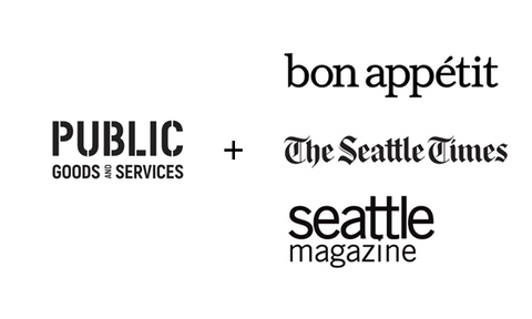 Public Goods and Services Featured in Bon Appetit Magazine, The Seattle Times, and Seattle Magazine