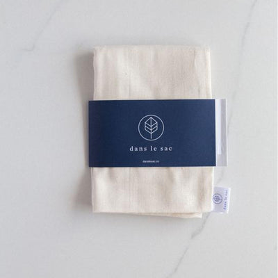 Natural Cotton Bulk Bags - 2 Pack